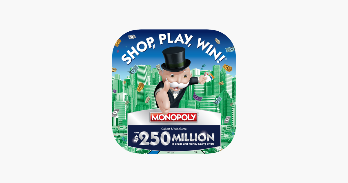 Shop, Play, Win!® MONOPOLY on the App Store