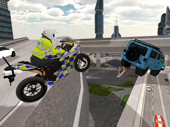 Police Motorbike Simulator 3Dのおすすめ画像4