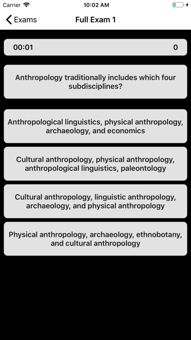 DSST Anthropology Buddy screenshot 2