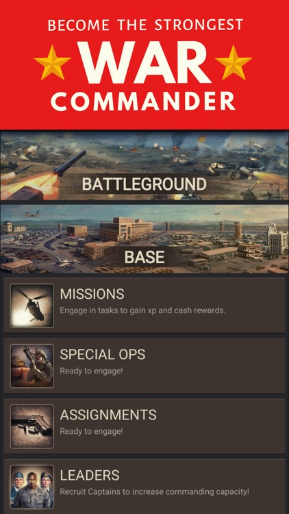 Warzone Military Strategy Game