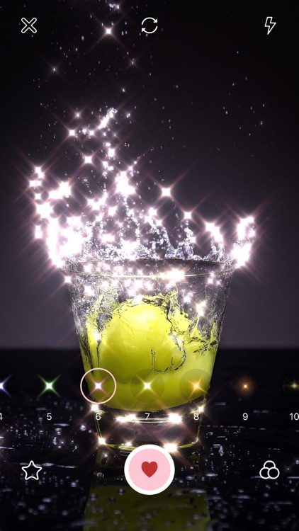 Glitter Cam-Sparkle for Kira screenshot-6