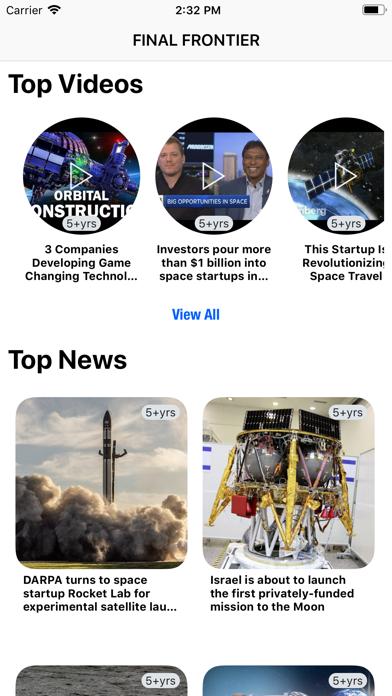Final Frontier NewsScreenshot of 1