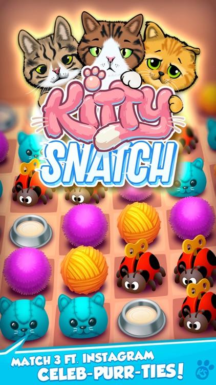 Kitty Snatch - Match 3 Cats screenshot-0
