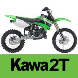 Jetting Kawasaki KX 2T Moto