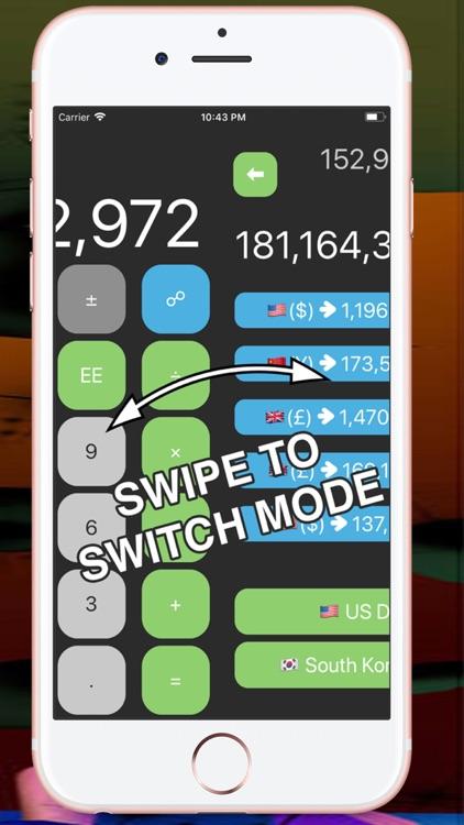 Calculator and unit conversion screenshot-4