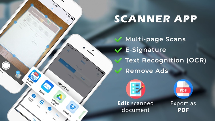 Scanner App - Photo to PDF