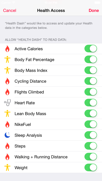 Dashboard for Apple Health Appのおすすめ画像3
