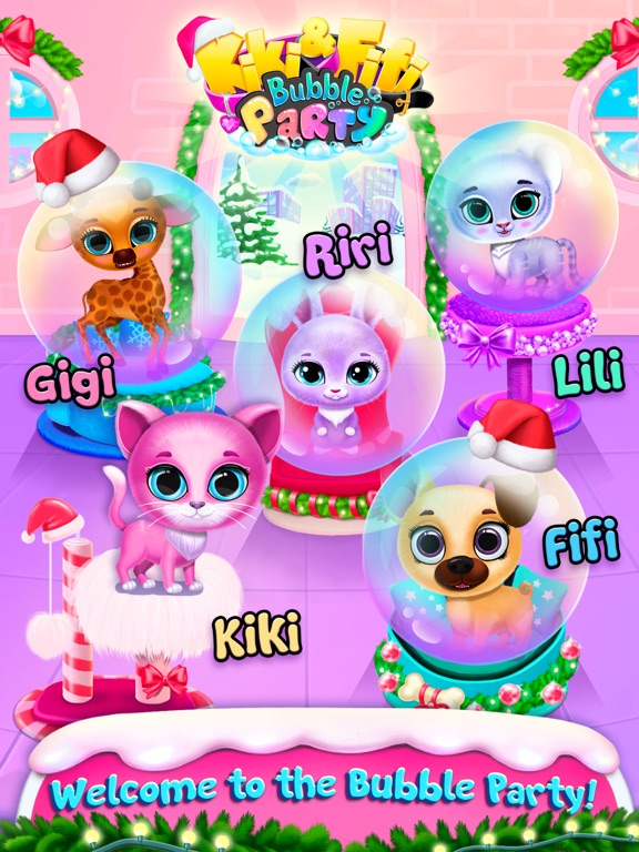 Kiki & Fifi Bubble Party screenshot 9