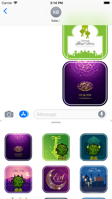 Stiker Ucapan Idul Fitri Screenshot