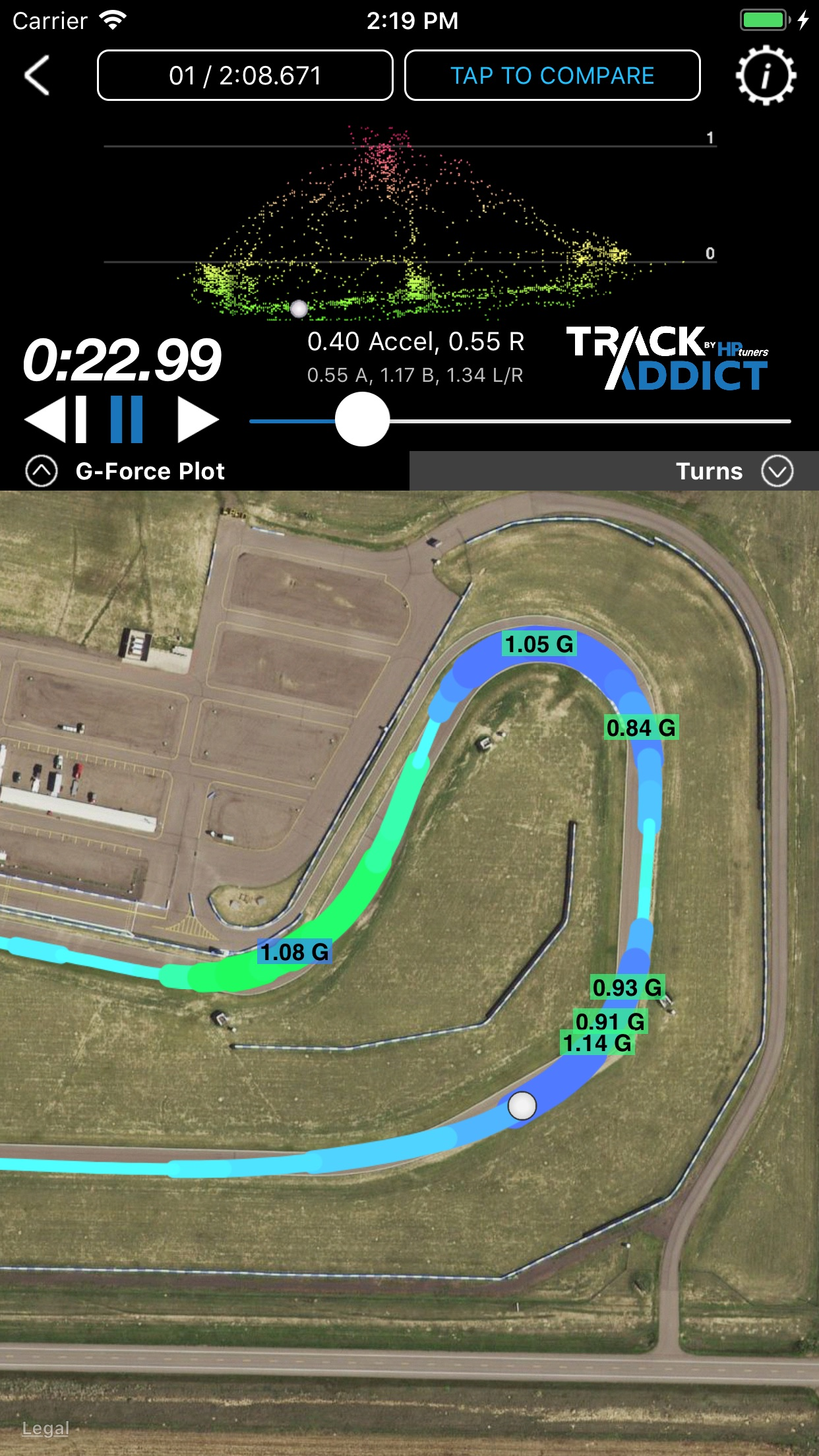 TrackAddict Screenshot