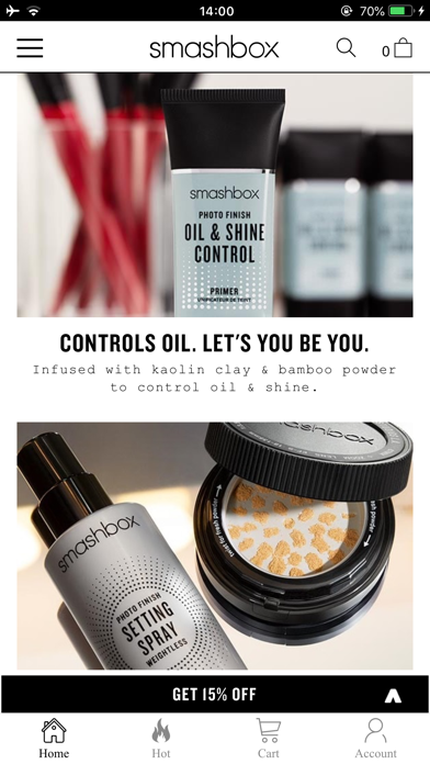 Smashbox Cosmetics screenshot 2