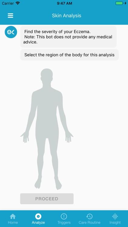 EczemaLess, an AI Eczema Guide