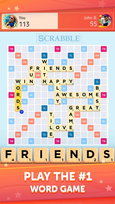 Scrabble® GO - New Word Game screenshot 1