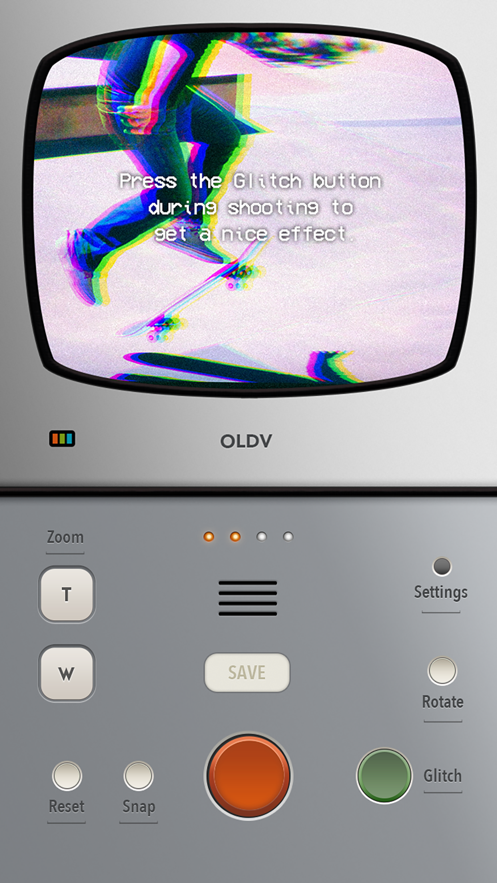 OLDV - 用欢快的BGM做炫酷视频 App 截图