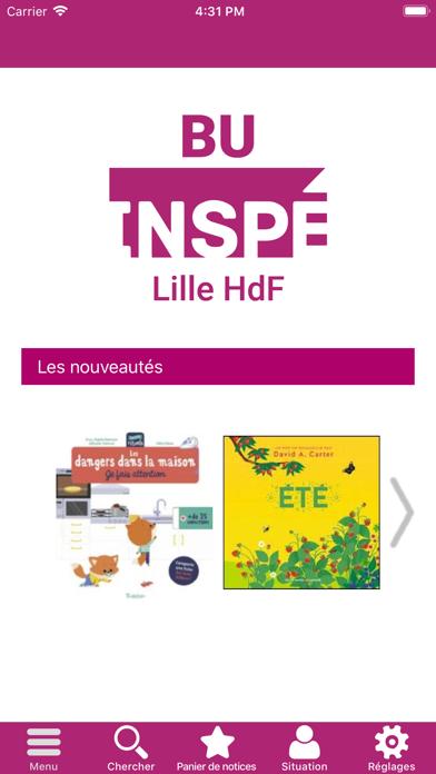 BU INSPÉ Lille HdF screenshot 1