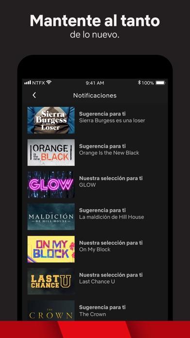 Screenshot for Netflix in Argentina App Store