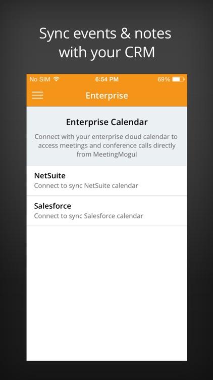 MeetingMogul Conference Dialer screenshot-3
