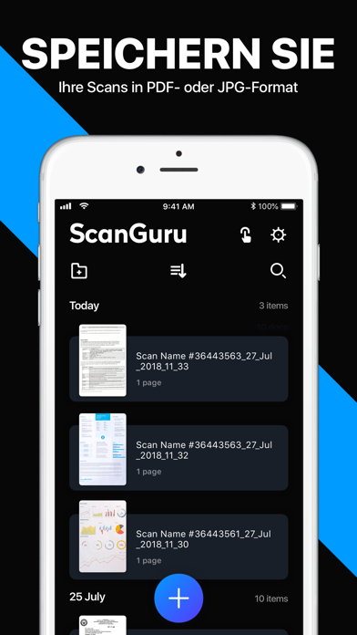 Screenshot for Scanner App: Scannen von PDF in Austria App Store