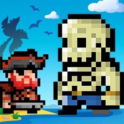 僵尸大战海盗-像素放置挂机单机休闲游戏