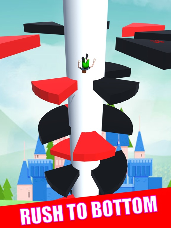 Helix Royal Jumper 3D screenshot 7