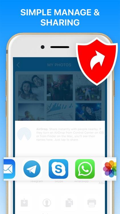 Safetic: Locked Photo Album screenshot-5