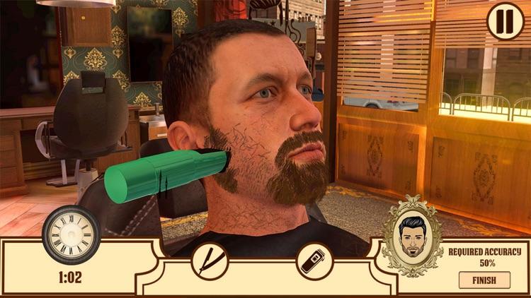 Barber Shop Hair Saloon Sim 3D