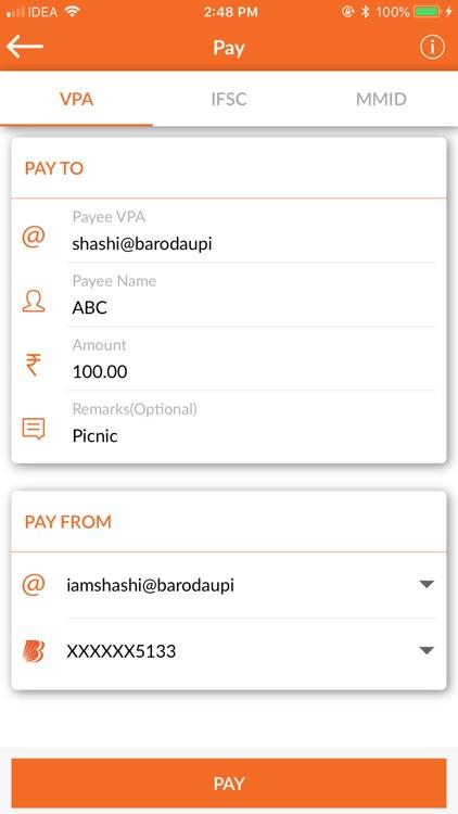 BHIM Baroda Pay screenshot-3