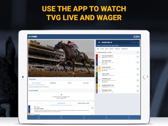 TVG's Mobile App screenshot