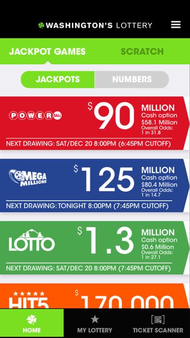 Washington's Lottery by Cole & Weber United (iOS, United
