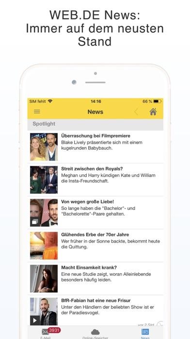 Herunterladen WEB.DE Mail & Cloud für Pc