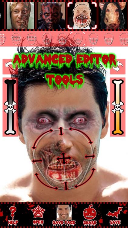 Scary face maker & swap editor