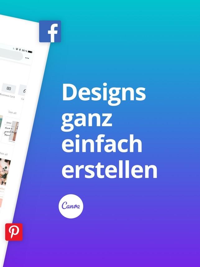 Canva Grafik Text Designer Im App Store