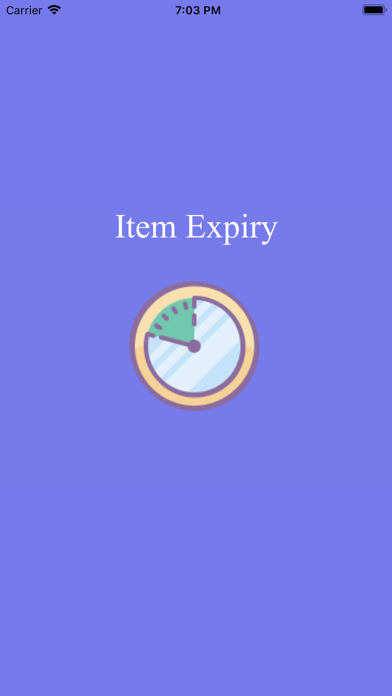 ExpiryItem screenshot 1