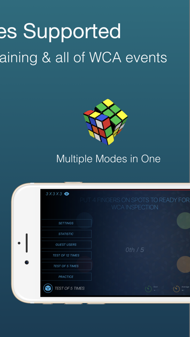 Cutimer: Magic Cube Timer screenshot 4