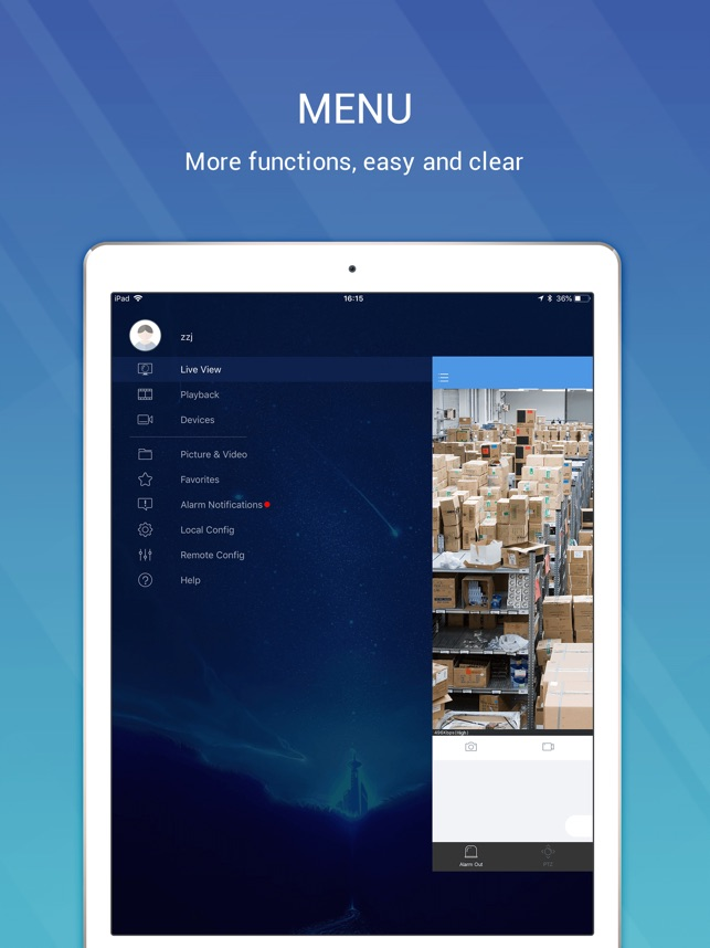 EZView - Video Surveillance on the App Store