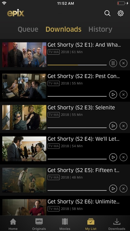 EPIX: Stream with TV Package screenshot-5