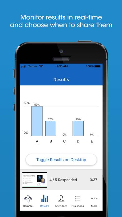 iClicker Cloud Mobile screenshot 2