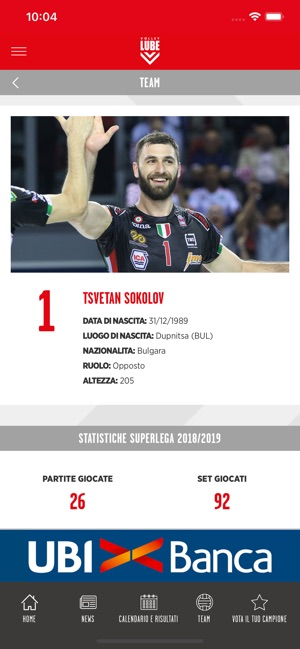 Lube Volley Calendario.Lube Volley On The App Store