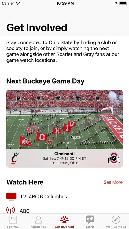 Ohio State Alumni screenshot-1