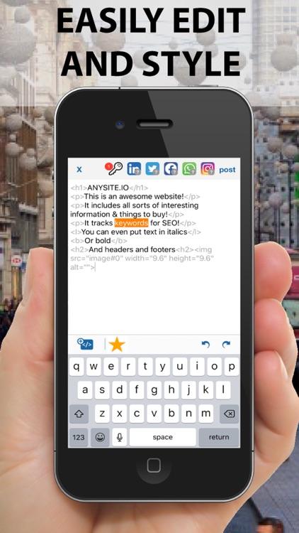 SEO Feeder App screenshot-4