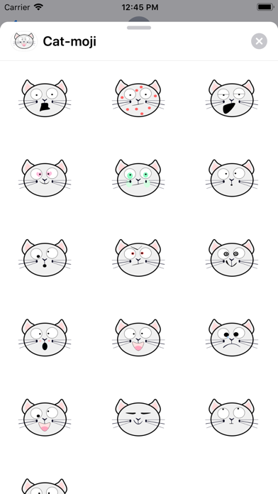 Cat-moji screenshot 1