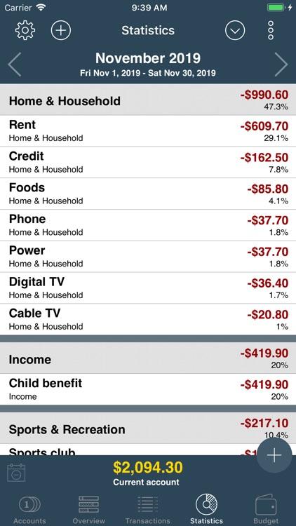 My Budget Book screenshot-6