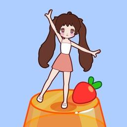 果冻女孩-指尖跳跃