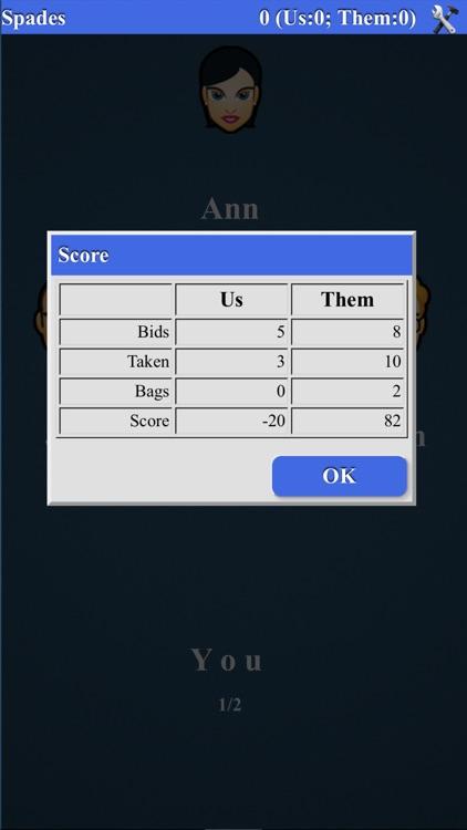 Spades Card Game* screenshot-3