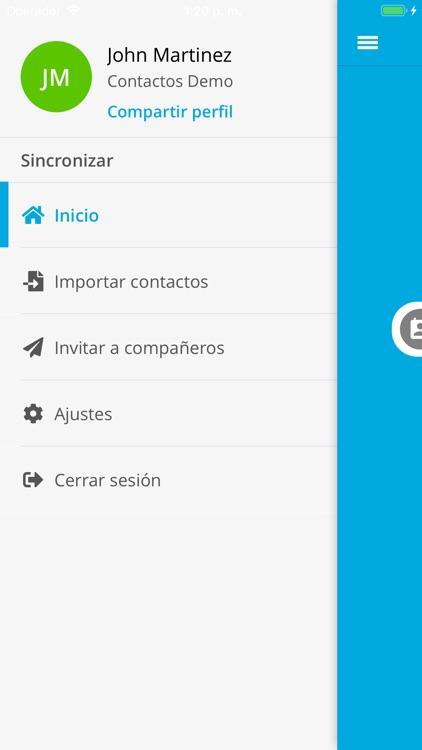 Contactos Digitales screenshot-4