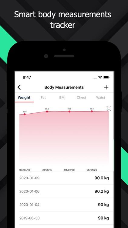 FitnessPal - Gym Workout Log screenshot-5