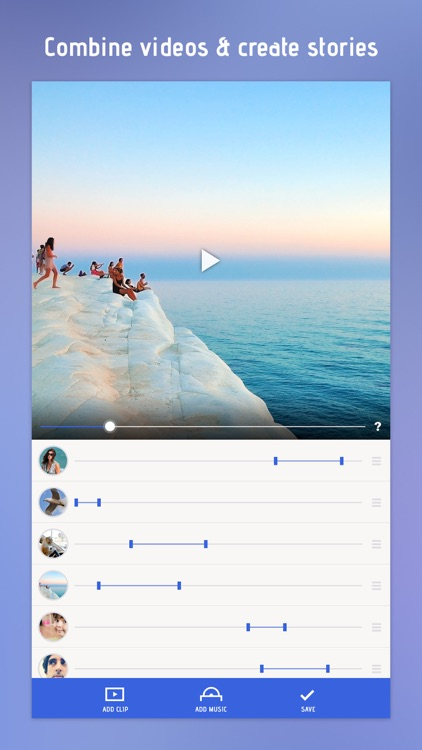 Combine Videos: Clip Slideshow