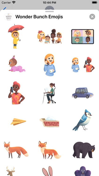 Wonder Bunch Emojis screenshot-5