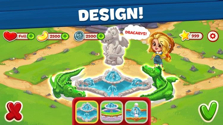 Wild Farm Match-3 Adventure screenshot-3