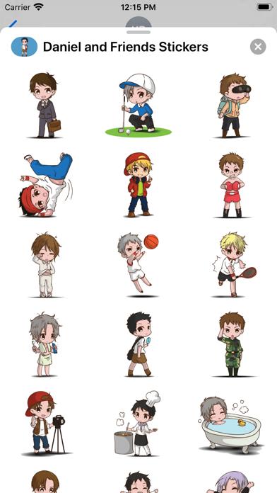 Daniel and Friends Stickers screenshot 1